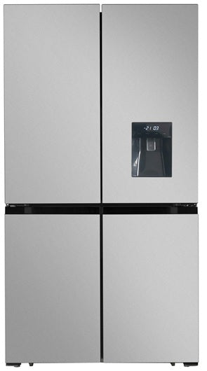 T94538SKINOX Thor Appliances American Style Fridge Freezer With Water Dispenser