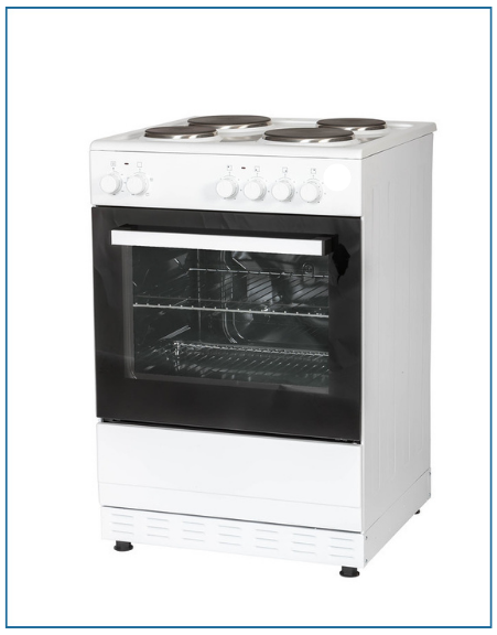 T06E1S1W 60cm Thor Single Cavity Cooker