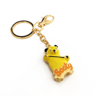 Sooty Cast Metal Keyring-Sooty's Shop