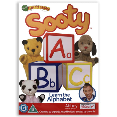 Sooty ABC Learn the Alphabet DVD-Sooty's Shop