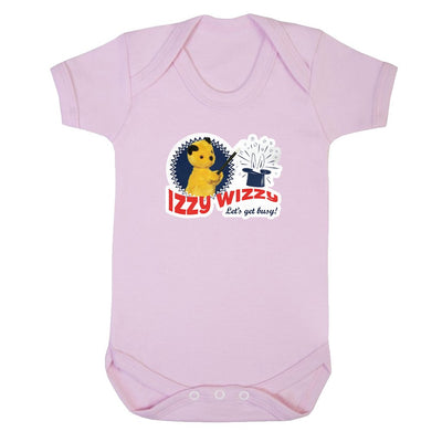 Sooty Izzy Wizzy Let's Get Busy Short Sleeve Baby Grow-Sooty's Shop