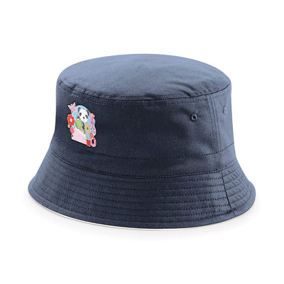 Sooty Soo Watering Flowers Reversible Bucket Hat-Sooty's Shop