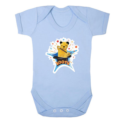 Sooty Magic Hat Short Sleeve Baby Grow-Sooty's Shop