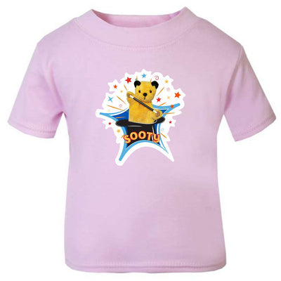 Sooty Magic Hat Baby T-Shirt-Sooty's Shop