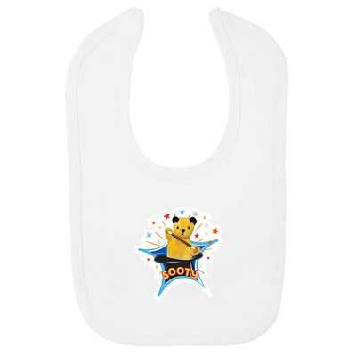 Sooty Magic Hat Velcro Bib-Sooty's Shop