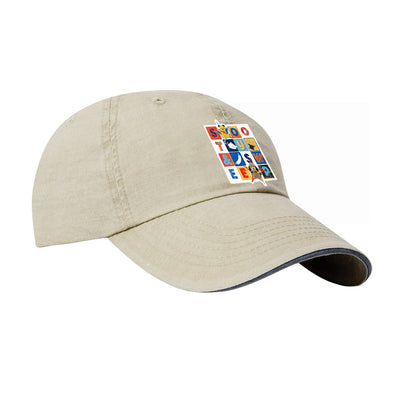 Sooty and Sweep Block Soft Cotton Cap