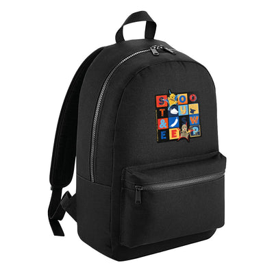 Sooty and Sweep Block Fashion Backpack