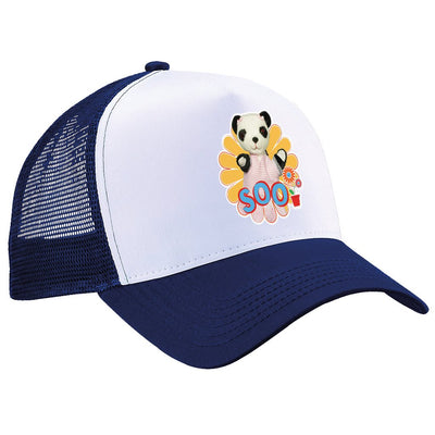 Sooty Soo Retro Flower Trucker Cap