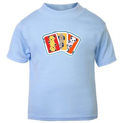 Sooty Sweep and Soo Playing Cards Baby T-Shirt-Sooty's Shop