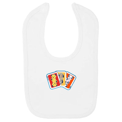 Sooty Sweep and Soo Playing Cards Velcro Bib-Sooty's Shop