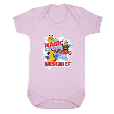 Sooty Magic Music Mischief Short Sleeve Baby Grow-Sooty's Shop