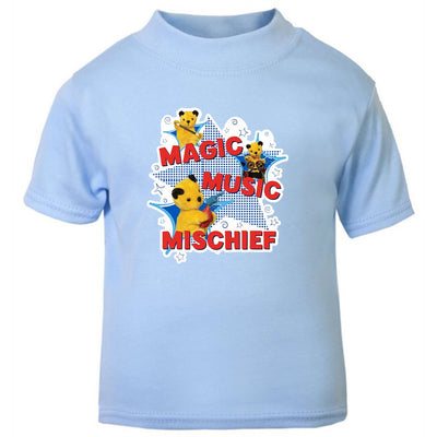 Sooty Magic Music Mischief Baby T-Shirt-Sooty's Shop