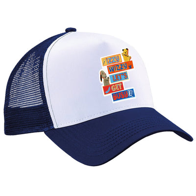 Sooty Izzy Wizzy Let's Get Busy Stacked Trucker Cap