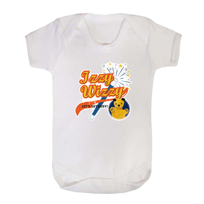 Sooty Izzy Wizzy Magic Wand Short Sleeve Baby Grow-Sooty's Shop