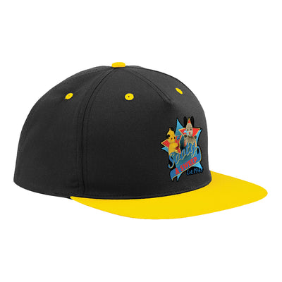 Sooty And Sweep Established 1948 Contrast Snapback Cap-Sooty's Shop