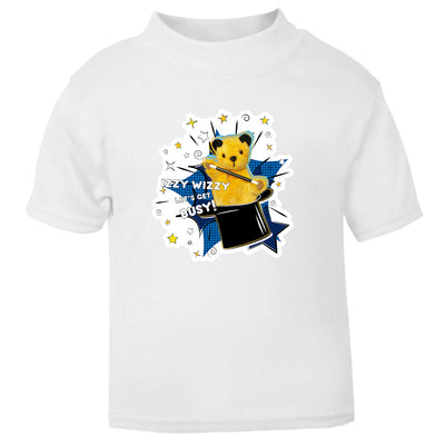 Sooty Izzy Wizzy Magic Hat Baby T-Shirt-Sooty's Shop