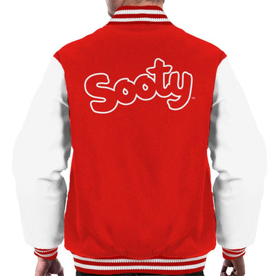 Sooty Retro Logo Men's Varsity Jacket-Sooty's Shop