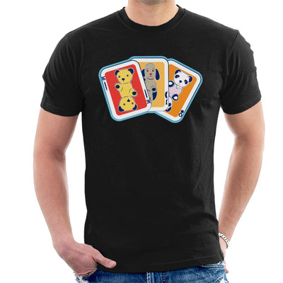 Sooty Playing Card Trio Men's T-Shirt-Sooty's Shop
