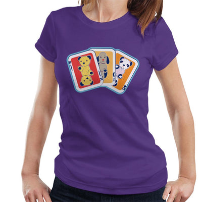 Sooty Playing Card Trio Women's T-Shirt-Sooty's Shop