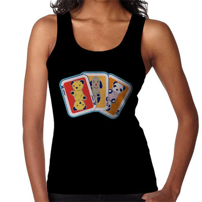 Sooty Playing Card Trio Women's Vest-Sooty's Shop