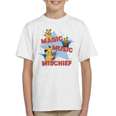 Sooty Magic Music Mischief Kid's T-Shirt-Sooty's Shop