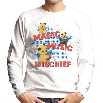 Sooty Magic Music Mischief Men's Sweatshirt-Sooty's Shop
