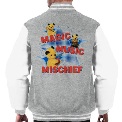 Sooty Magic Music Mischief Men's Varsity Jacket-Sooty's Shop