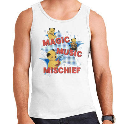 Sooty Magic Music Mischief Men's Vest-Sooty's Shop