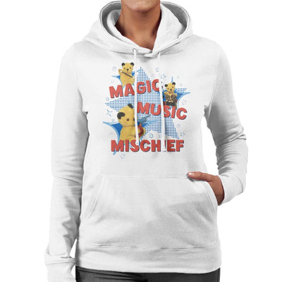 Sooty Magic Music Mischief Women's Hooded Sweatshirt-Sooty's Shop