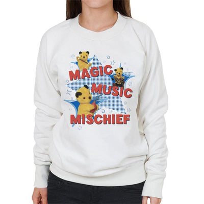 Sooty Magic Music Mischief Women's Sweatshirt-Sooty's Shop