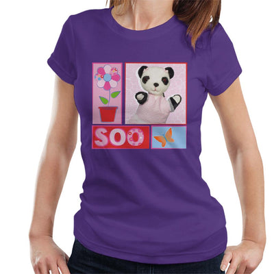 Sooty Soo Retro Floral Women's T-Shirt-Sooty's Shop
