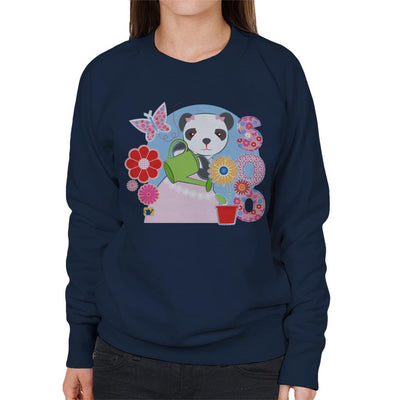 Sooty Soo Watering Flowers Women's Sweatshirt-Sooty's Shop