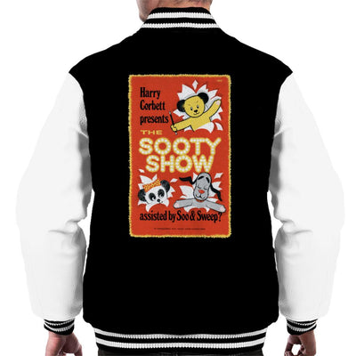 Sooty Show Retro Poster Men's Varsity Jacket-Sooty's Shop