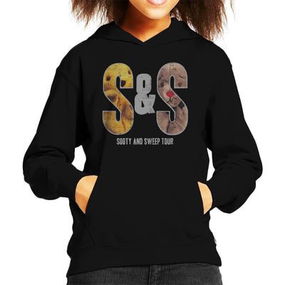 Sooty And Sweep S&S Tour Kid's Hooded Sweatshirt-Sooty's Shop