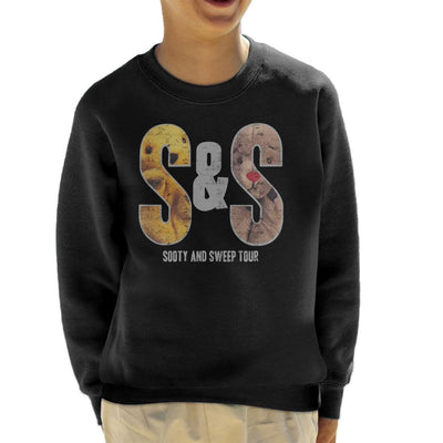 Sooty And Sweep S&S Tour Kid's Sweatshirt-Sooty's Shop