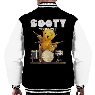 Sooty World Tour Drums Men's Varsity Jacket-Sooty's Shop