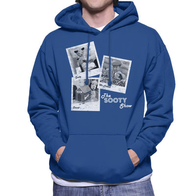 Sooty Retro 1950's Photo Montage Men's Hooded Sweatshirt-Sooty's Shop