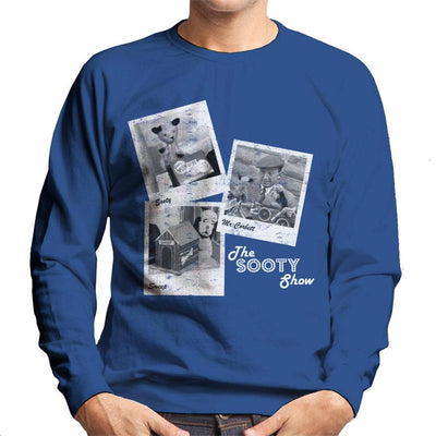 Sooty Retro 1950's Photo Montage Men's Sweatshirt-Sooty's Shop