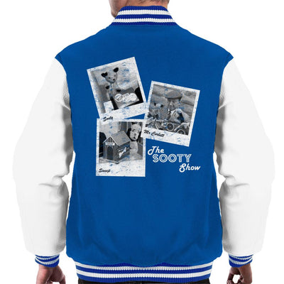 Sooty Retro 1950's Photo Montage Men's Varsity Jacket-Sooty's Shop
