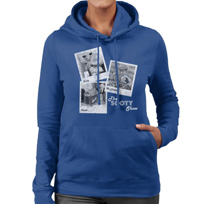 Sooty Retro 1950's Photo Montage Women's Hooded Sweatshirt-Sooty's Shop