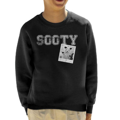 Sooty Retro College Sports Style Kid's Sweatshirt-Sooty's Shop