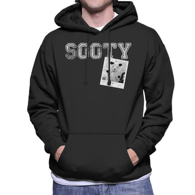Sooty Retro College Sports Style Men's Hooded Sweatshirt-Sooty's Shop