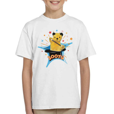 Sooty Magic Hat Kid's T-Shirt-Sooty's Shop