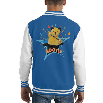 Sooty Magic Hat Kid's Varsity Jacket-Sooty's Shop