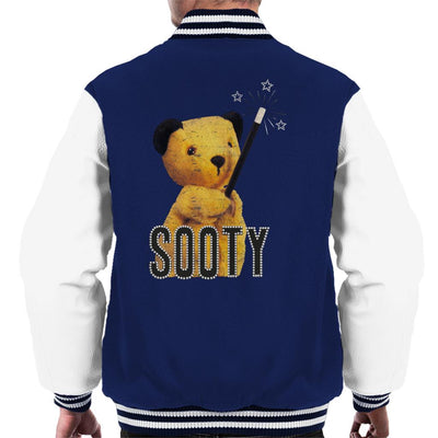 Sooty Retro Magic Wand Men's Varsity Jacket-Sooty's Shop