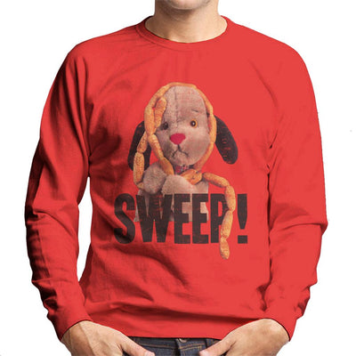 Sooty Sausages Sweep Distressed Men's Sweatshirt-Sooty's Shop
