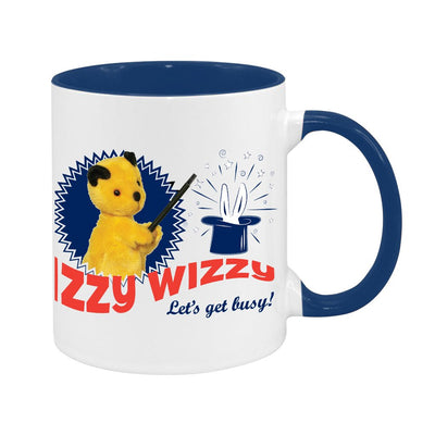 Sooty Izzy Wizzy Let's Get Busy Two Colour Mug