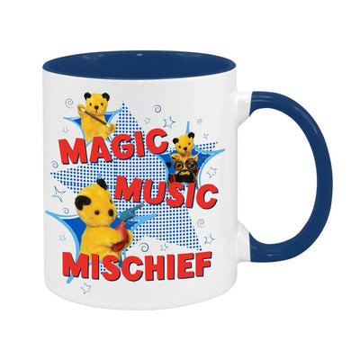Sooty Magic Music Mischief Two Colour Mug