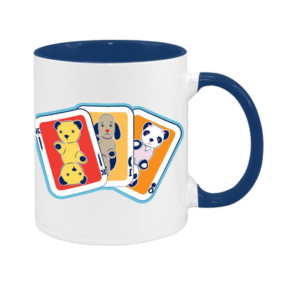 Sooty Playing Card Two Colour Mug