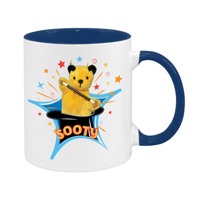 Sooty Magic Hat Two Colour Mug
